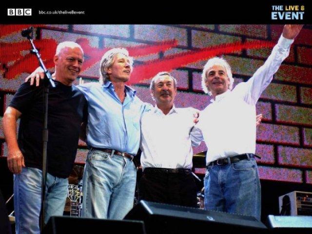 Pink Floyd Reuniunea Live 8