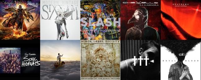 Albumele anului 2014