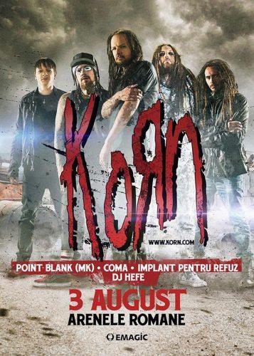 Korn concert Romania