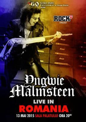 Yngwie Malmsteen concert Romania
