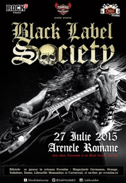 Black Label Society concert Bucuresti 2015
