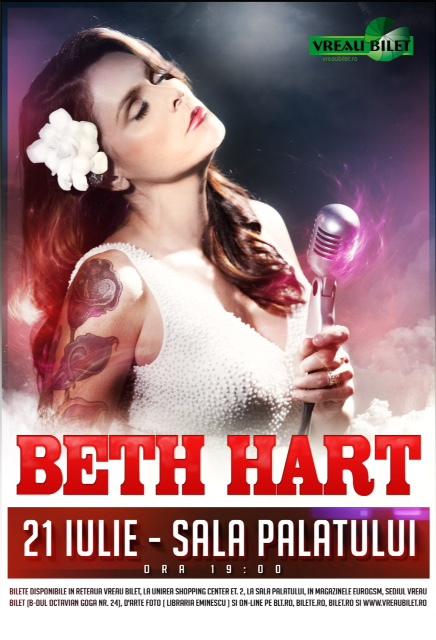 Beth Hart - concert Bucuresti 2015