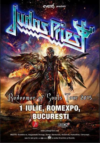 Judas Priest concert Bucuresti 2015