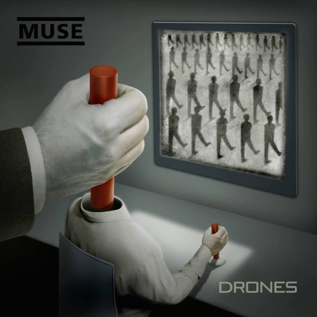 Muse Drones 2015 - coperta albumului
