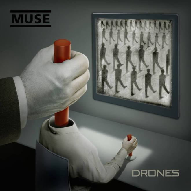 "Muse va avea cu ""Drones"" primul album de nr. 1 si in SUA, si in UK"