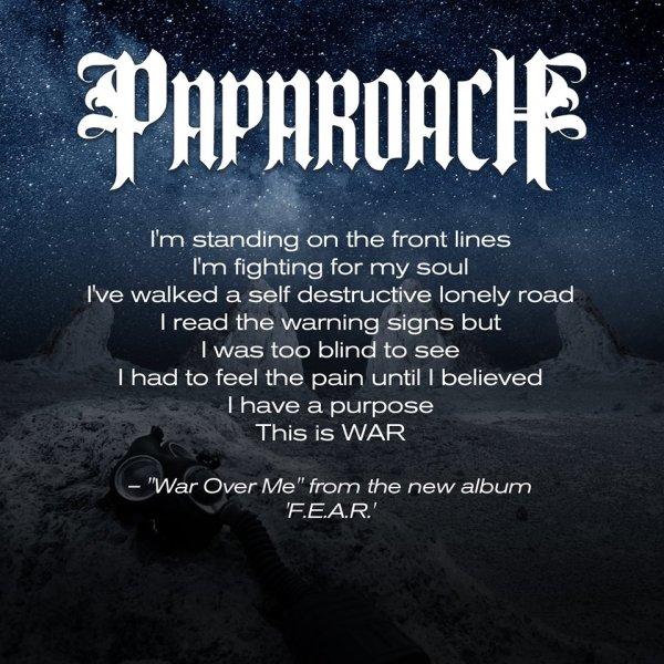 Papa Roach coperta F.E.A.R. - 2015