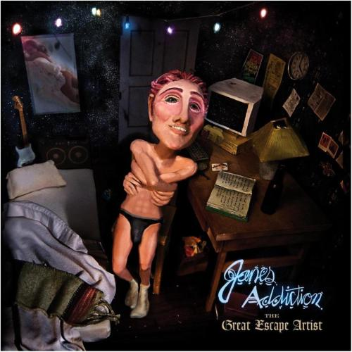 Jane's Addiction The Great Escape Artist 2011 - coperta