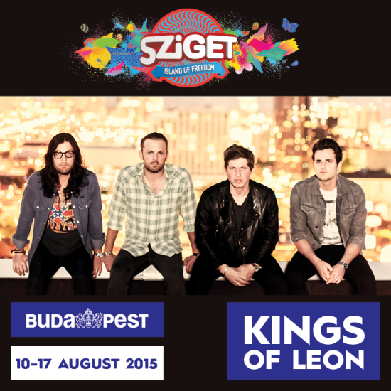 Kings of Leon Sziget Festival 2015