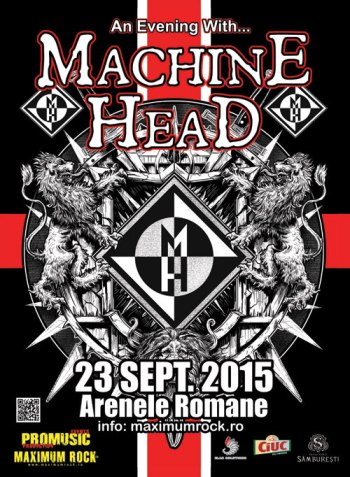 Concert Machine Head 23 Septembrie 2015