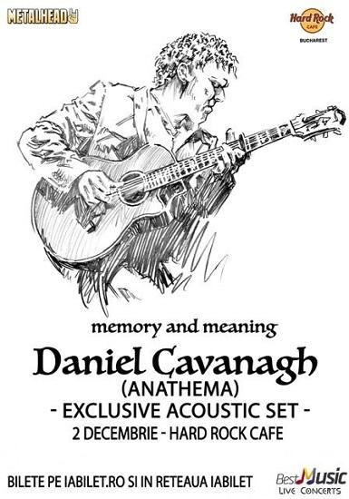 Daniel Cavanagh concert Romania