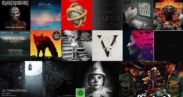 Albumele rock ale anului 2015