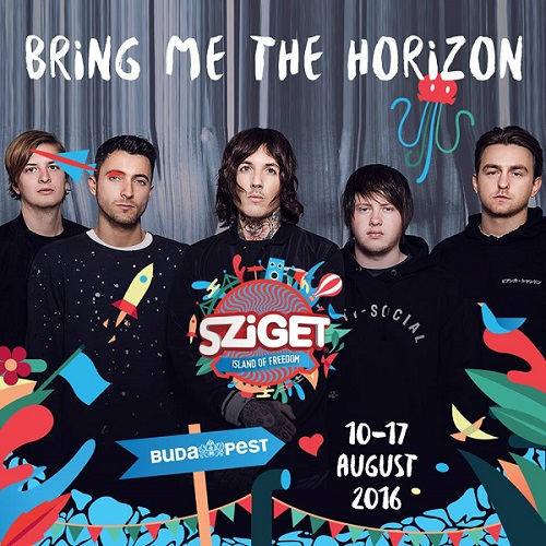 Bring Me the Horizon Sziget Festival 2016