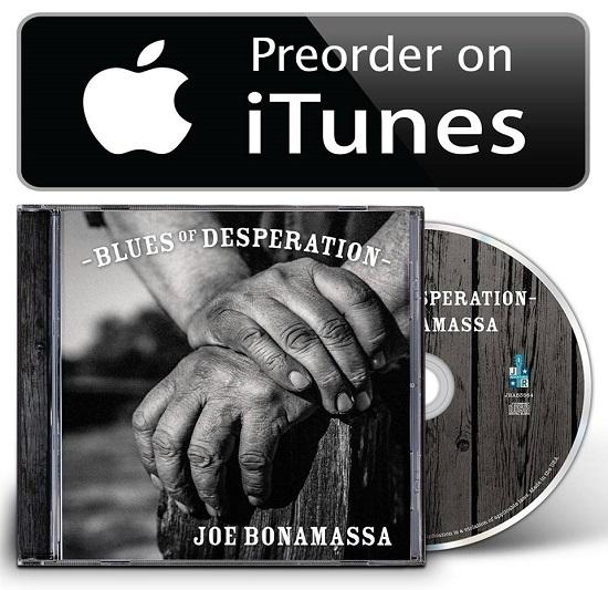 Joe Bonamassa Blues Of Desperation 2016