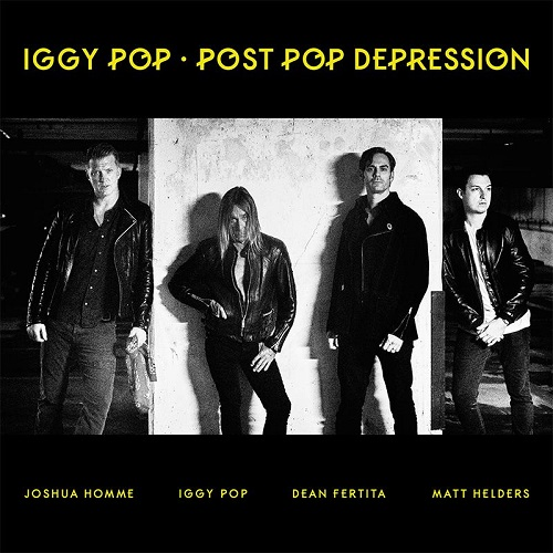 Iggy Pop Josh Homme Post Pop Depression 2016
