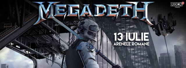 Megadeth concert Bucuresti