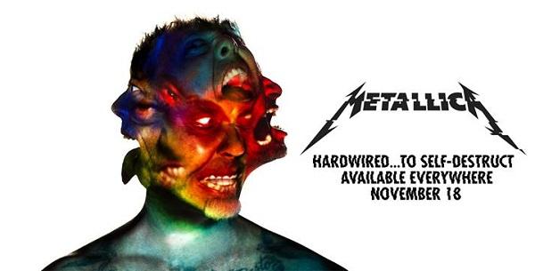 Metallica Hardwired...To Self-Destruct album 2016