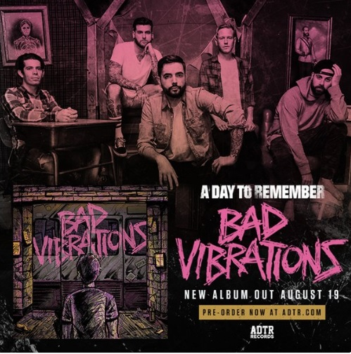 A Day To Remember Bad Vibrations album 2016