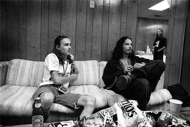 Temple Of the Dog Chris Cornell Eddie Vedder