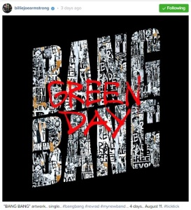 Green Day Bang Bang single 2016