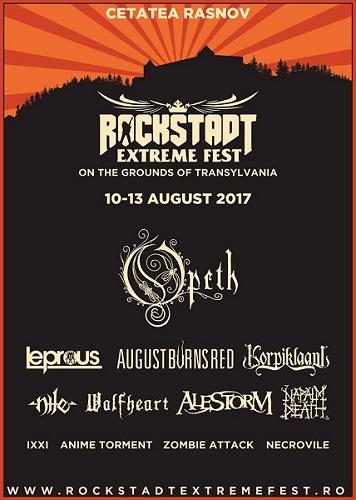 Image result for rockstadt extreme fest 2017 lineup