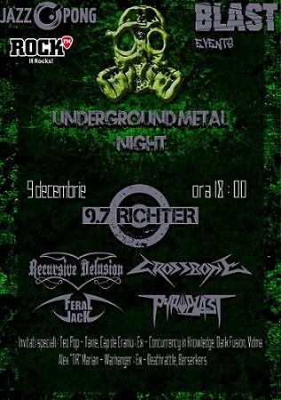 Underground Metal Night 2016