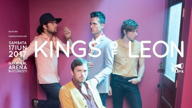 Kings of Leon concert Bucuresti 2017