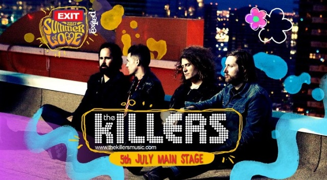 The Killers concert Exit Festival Serbia 2017