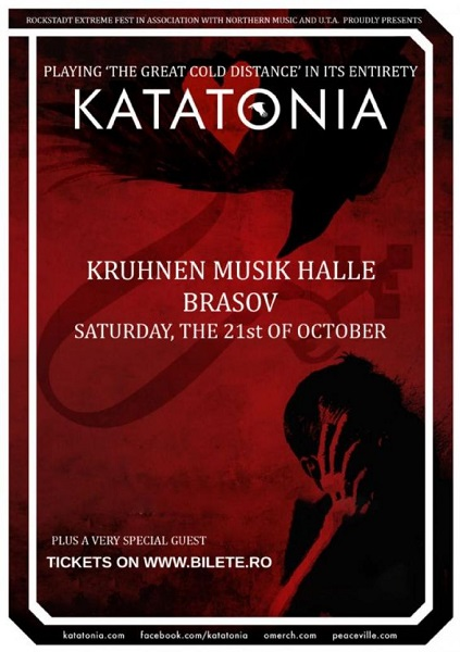 Katatonia concert Romania
