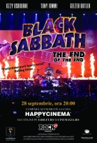 Black Sabbath The End Of The End proiectie mondiala