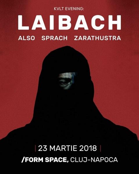 Laibach concert cluj 2018