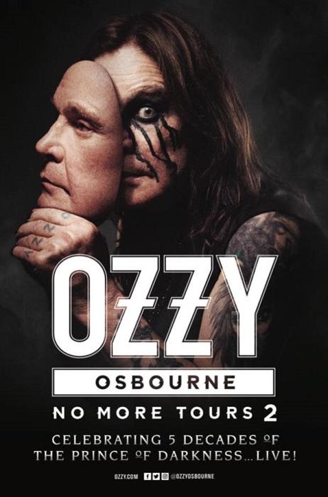 Ozzy Osbourne No More Tours 2 2018