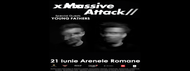 Massive Attack concert Romania 2018