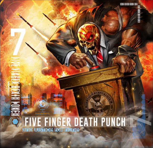 Five Finger Death Punch And Justice For None album 2018