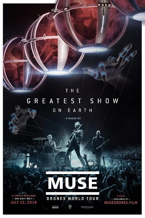 muse drones film concert