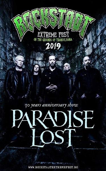 paradise lost rockstadt extreme fest 2019