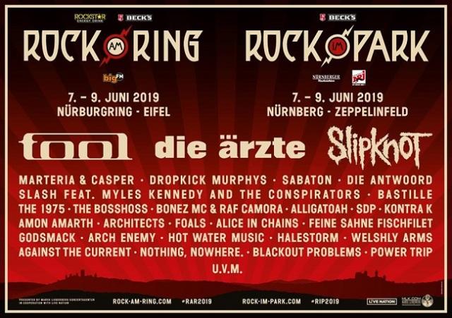tool slipknot rock am ring 2019