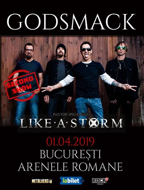 godsmack concert bucuresti 2019