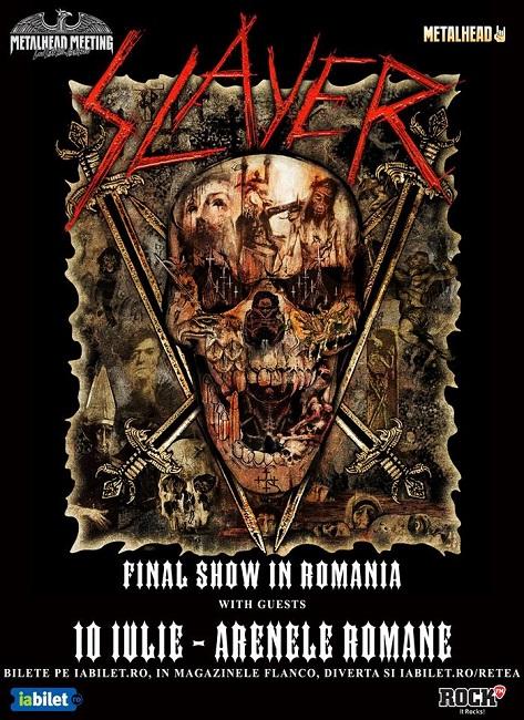 slayer concert bucuresti 2019