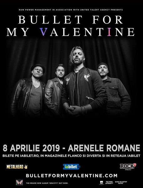 bullet for my valentine concert romania 2019