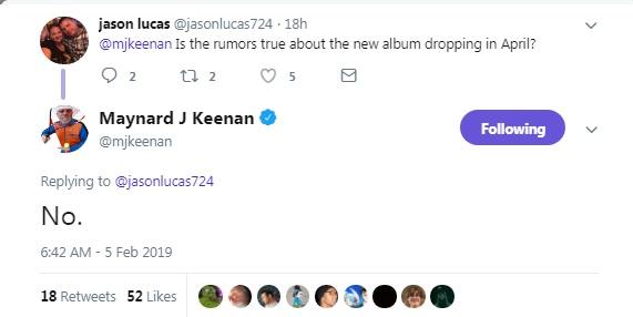 tool album 2019