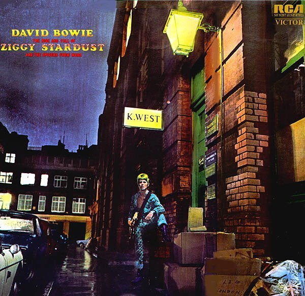 David Bowie The Rise and Fall of Ziggy Stardust and the Spiders From Mars album 1972