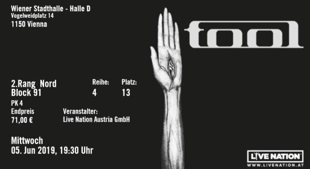 tool concert 2019