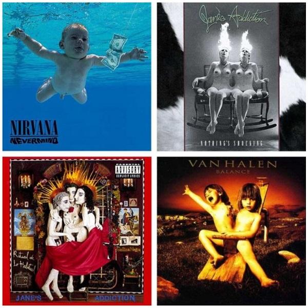 "nirvana nevermind ""Ritual De Lo Habitual"" si ""Nothing's Shocking"" Jane's Addiction, ""Balance"" Van Halen"