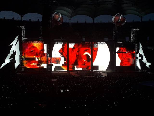 metallica concert arena nationala bucuresti 2019